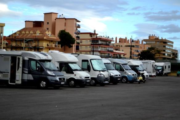 Marknadsplatsen i Fuengirola