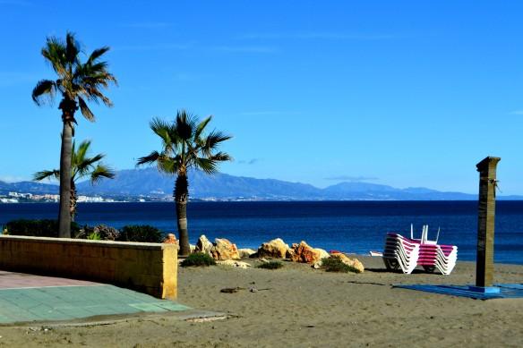 Stranden i Estepona