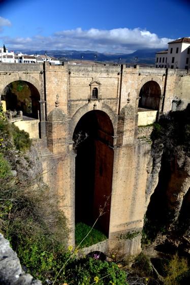Den mest fotade bron i Rona