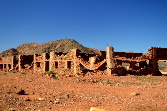Ruiner, kanhända har det varit bostäder