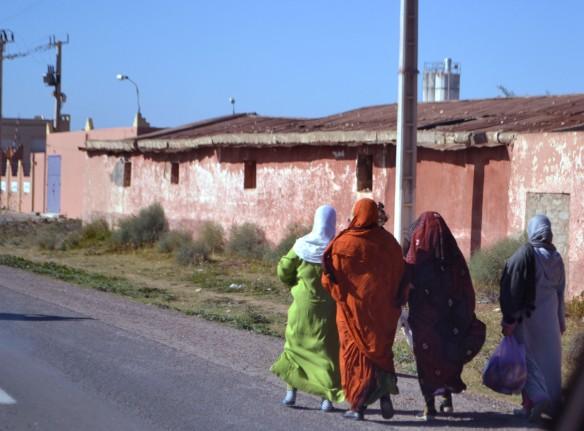 Färgglada kvinnor