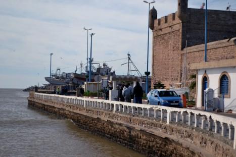 Hamnen i Essouira