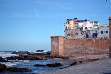 Hamnen i Essaouira