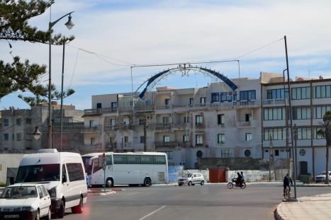 Vi lämnar Essaouira