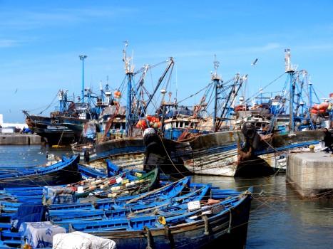 Fullsmockad hamn