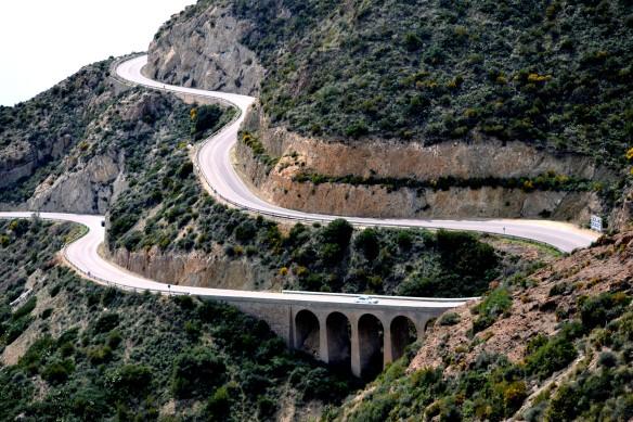 Kustvägen från Carboneras