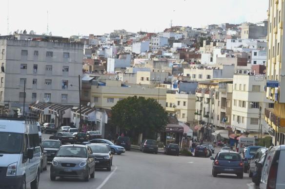 Närmar oss Tanger