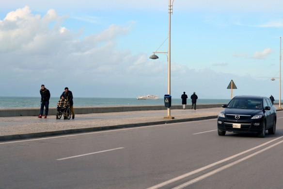 Hamnpromenaden i Tanger