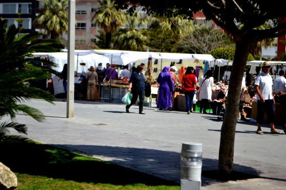 Marknad i Benicarlo