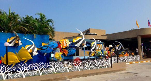 Akvariet - utsidan