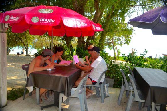 Lunch på Koh Samet