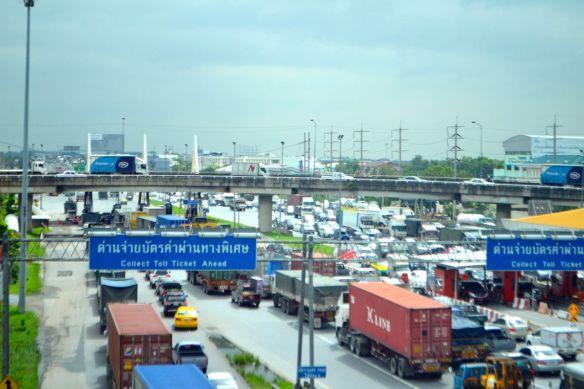 På väg till Bangkok