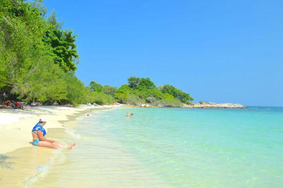 Stranden på Koh Samet