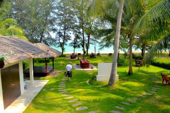 Villa Nirvana mot stranden
