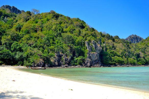 Stranden på Loh Lana Bay
