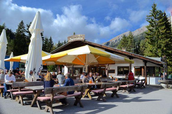 Cafe vid Zugspitze