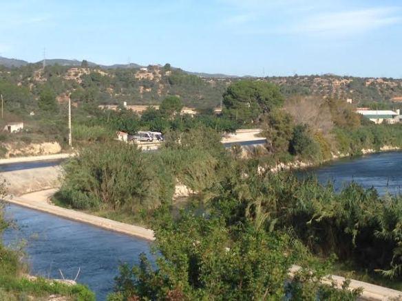 Kanalen i Xerta