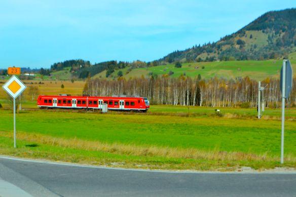Rött tåg