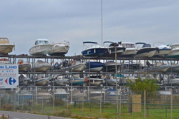 Upplagda båtar