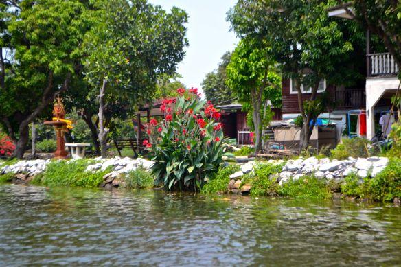 Liljor vid floden