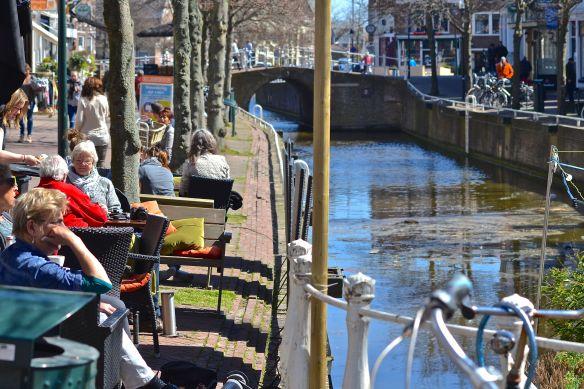 Fika vid kanalen