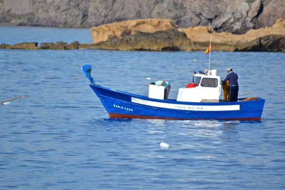 Blå båt