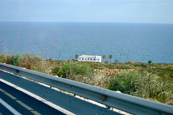 Hus vid stranden
