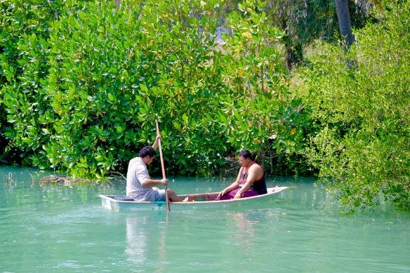 två i en båt