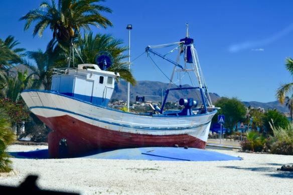 Båten i Aguilas