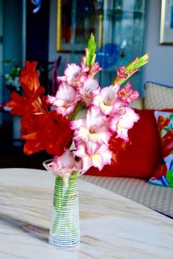 Gladiolusbukett